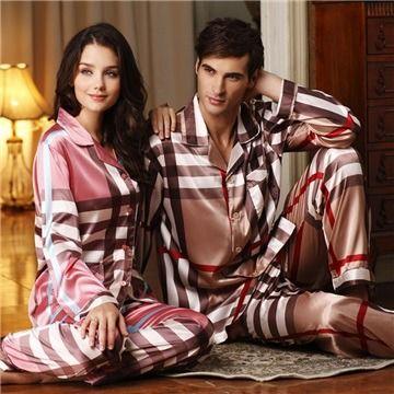 Luxury Silk Sleepwear His Hers