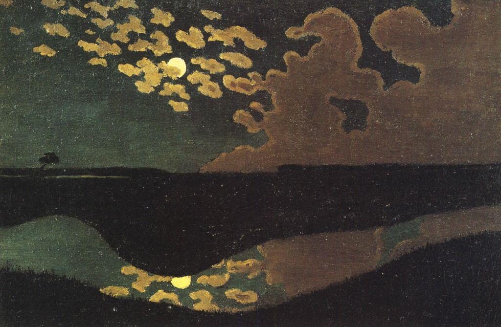 """last-picture-show: """" """"Felix Vallotton, Clair de Lune, 1895 """" """""""