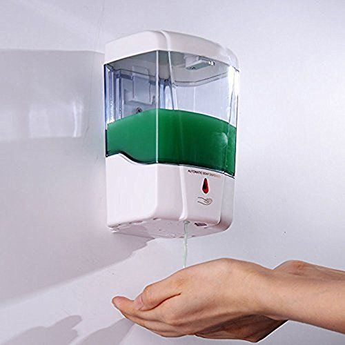 Premium Battery Powered Wallmount Notouch Automatic Hand Soap