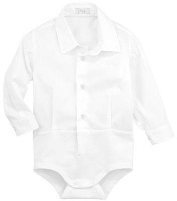 Il Gufo Body chemise en popeline et jersey coton sur shopstyle.fr