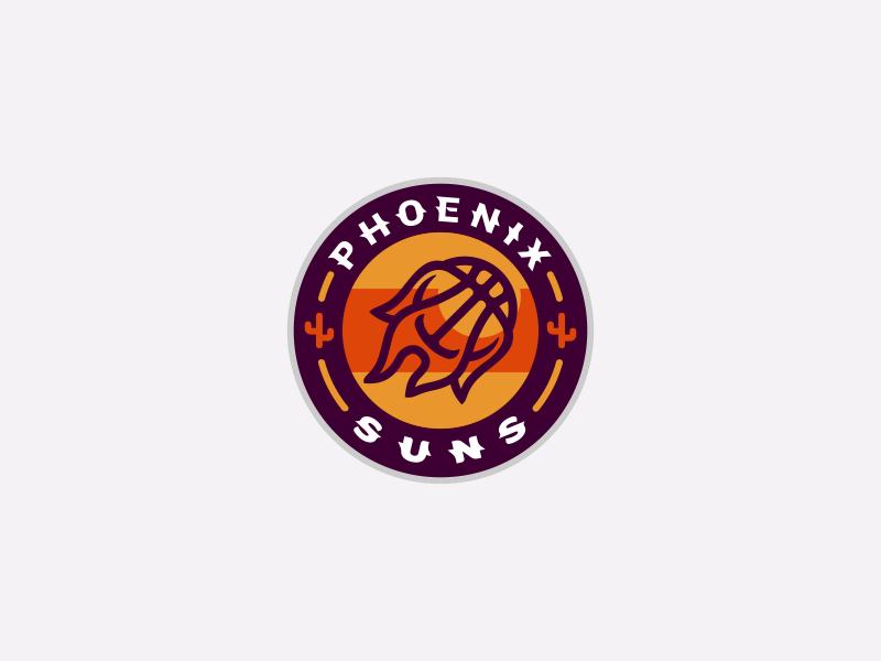 Phoenix Suns Logo Design Sun Logo Logo Design Phoenix Suns