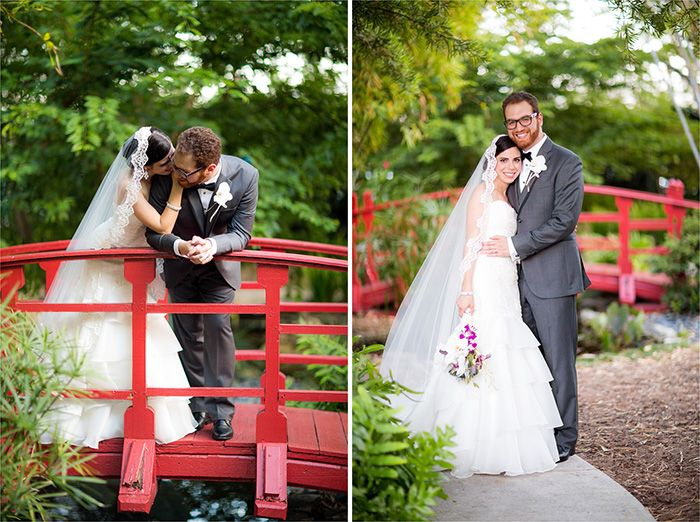 Stunning Modern Purple Botanical Garden Wedding in Miami Beach   Images by Chris Kruger Photography   Via Modernly Wed   33