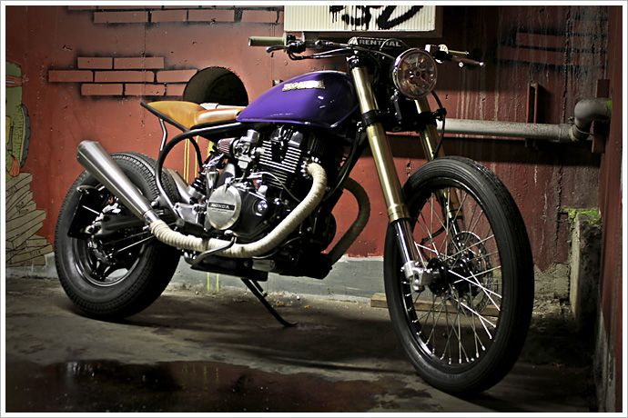 JMR 1982 Honda CB450 Nighthawk - enduro/tracker/cafe ...
