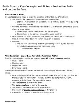 earth science study guide inside the earth and on the earth s rh pinterest com chapter 4 study guide for content mastery answer key earth science earth science chapter 28 study guide key