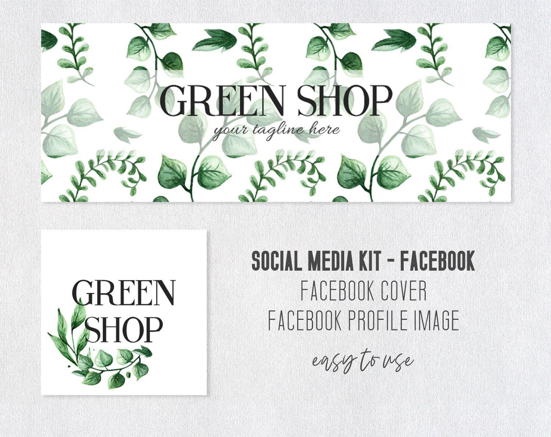 Facebook Cover Facebook Kit Social Media Kit Facebook
