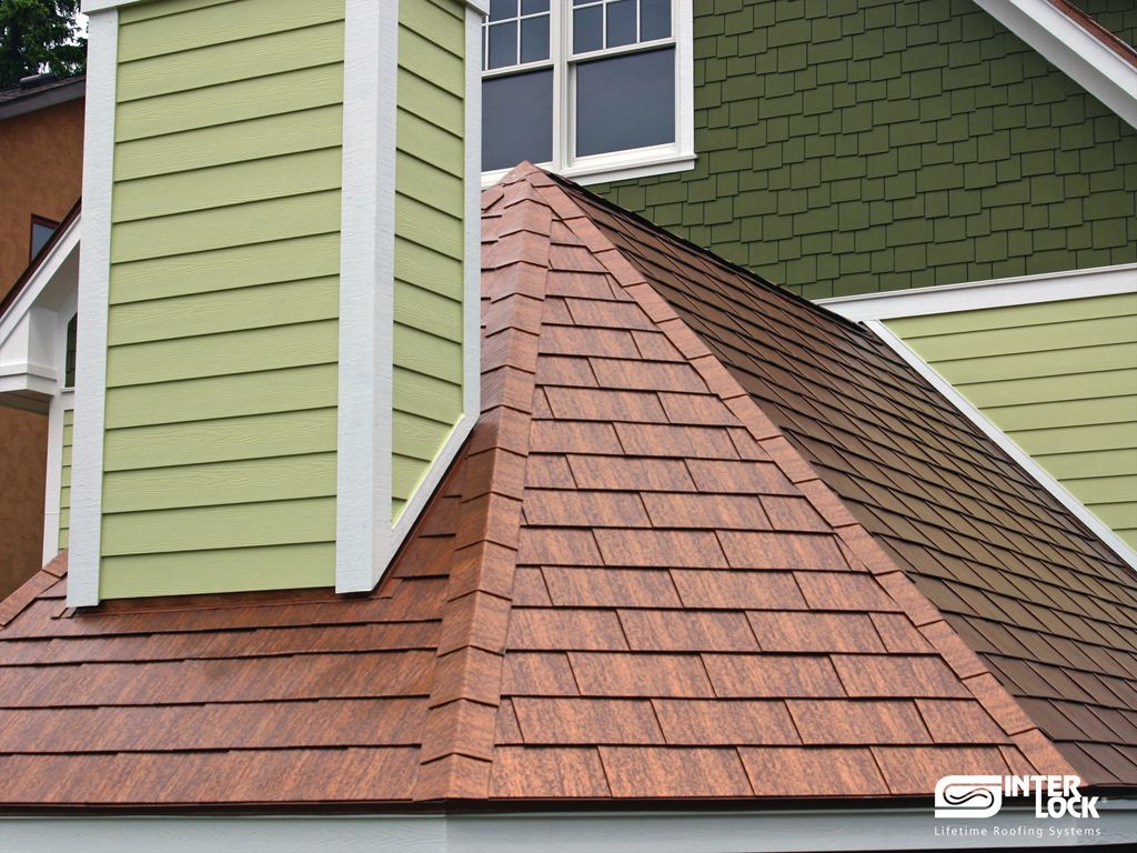 Interlock 174 Shingle Roof System Metal Roofing Metal