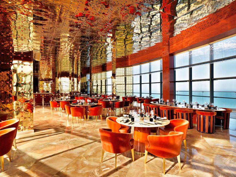 Jumeirah Bilgah Beach Hotel Baku Yuukai Restaurant Interior Shot Hotel Hotel Bar Beach Hotels
