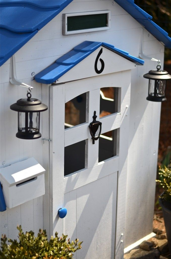 Outdoor and Garden | DIY Ideas | Play houses, Wood playhouse