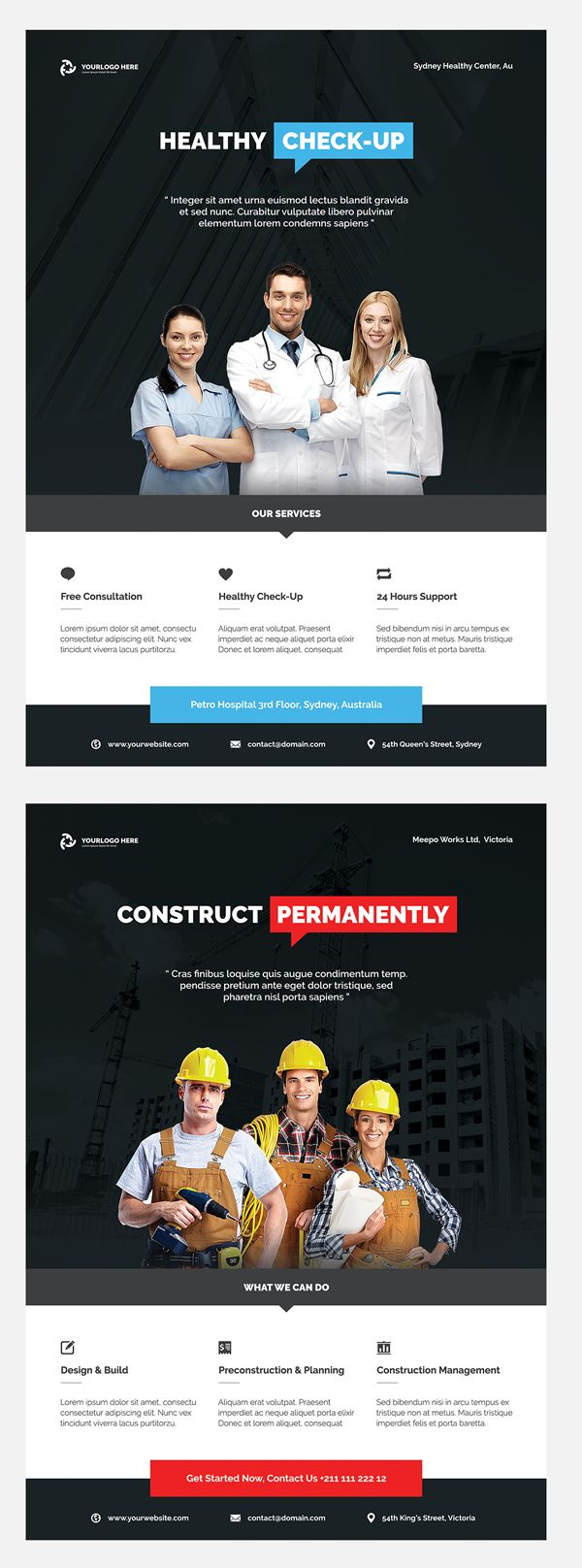 Professional Corporate Flyer Templates  Graphic Design World