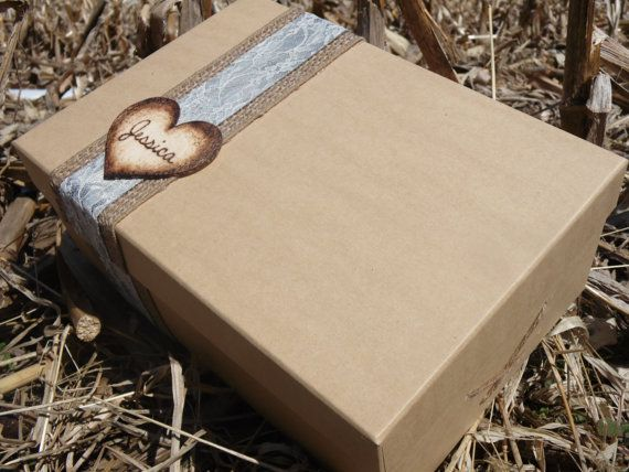 Rustic bridesmaid box/Will you be my bridesmaid by rustiKreations, $18.50
