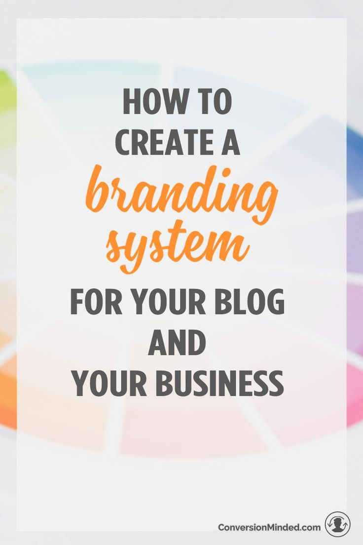 How To Create A Brand System For Your Blog And Your Business Branding Your Business Business Blog Blog