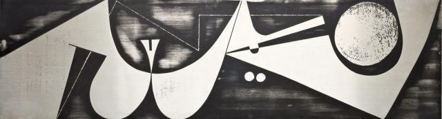 Zinc Panel by Nerone Giovanni Ceccarelli, 1974   Wall