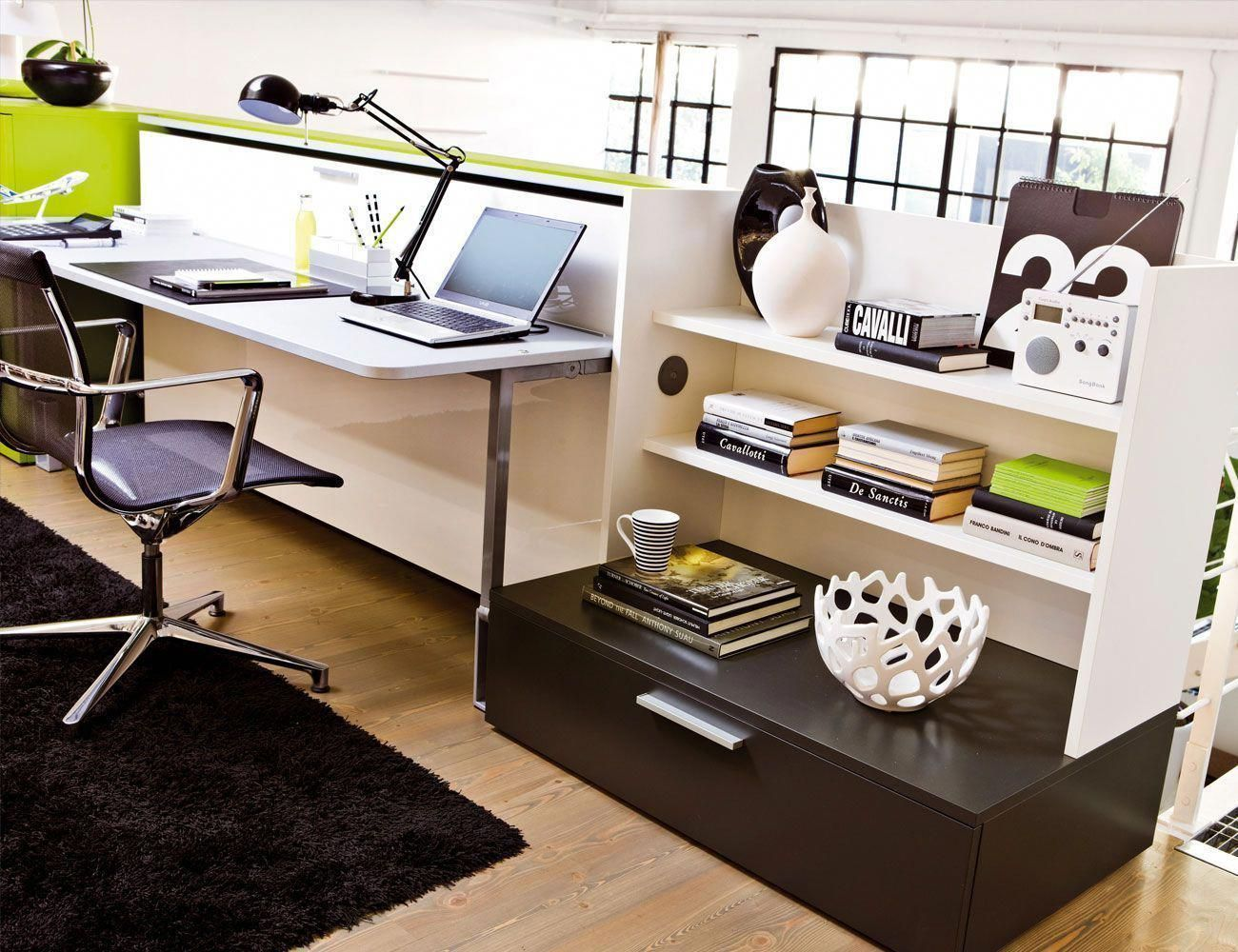 Cabrio in turn your office into a guest room with this space