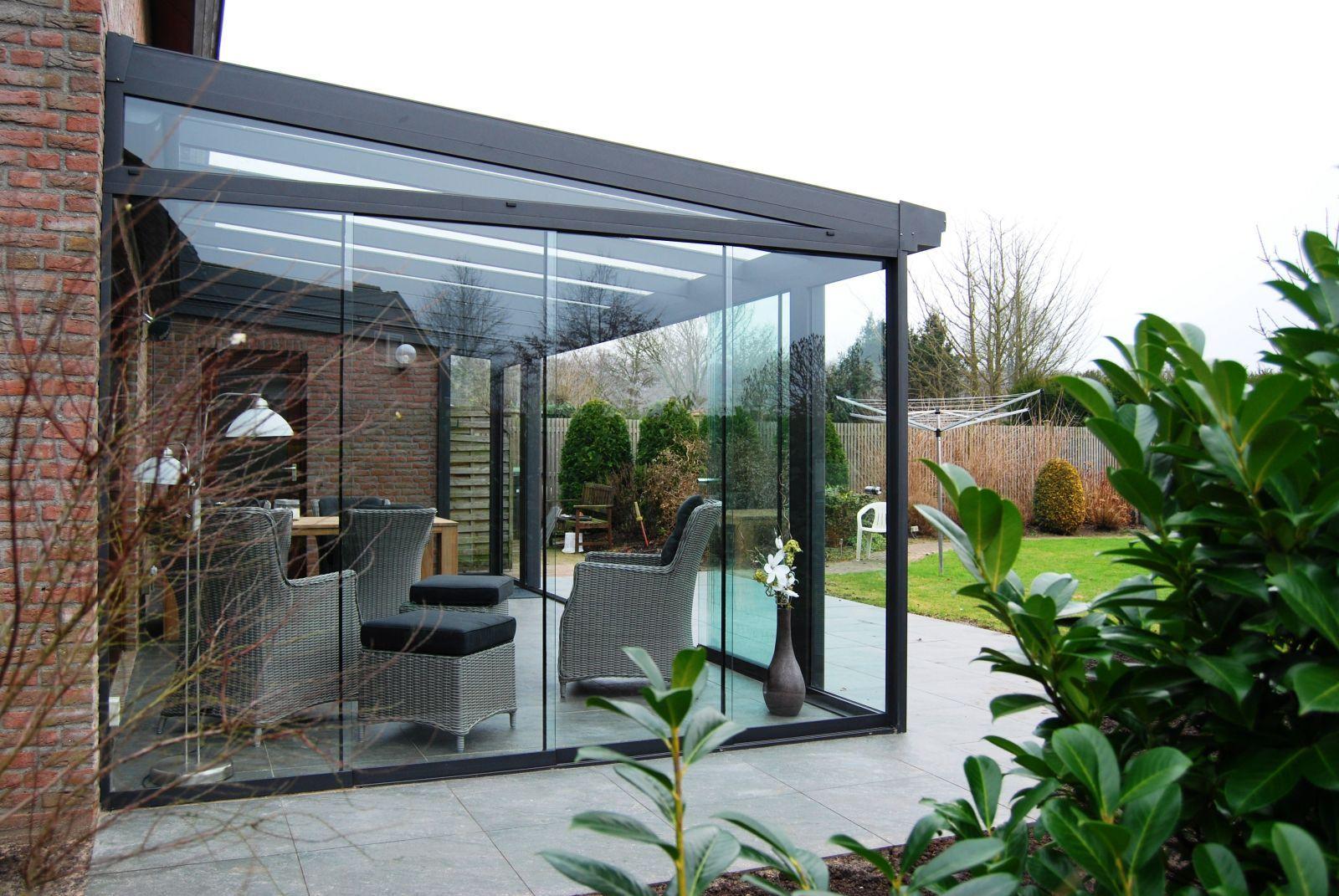 Kaltwintergarten Schiebeelemente ~ Sommergarten terrasse ganzglaselemente glasschiebeelemente