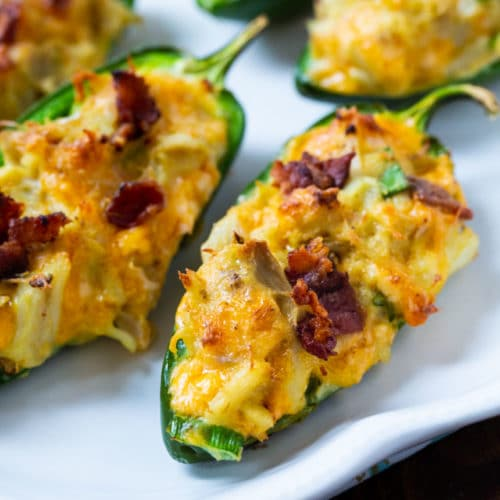 Cajun Crab Stuffed Jalapenos Recipe Crab Recipes Yummy Appetizers Stuffed Jalapeno Peppers
