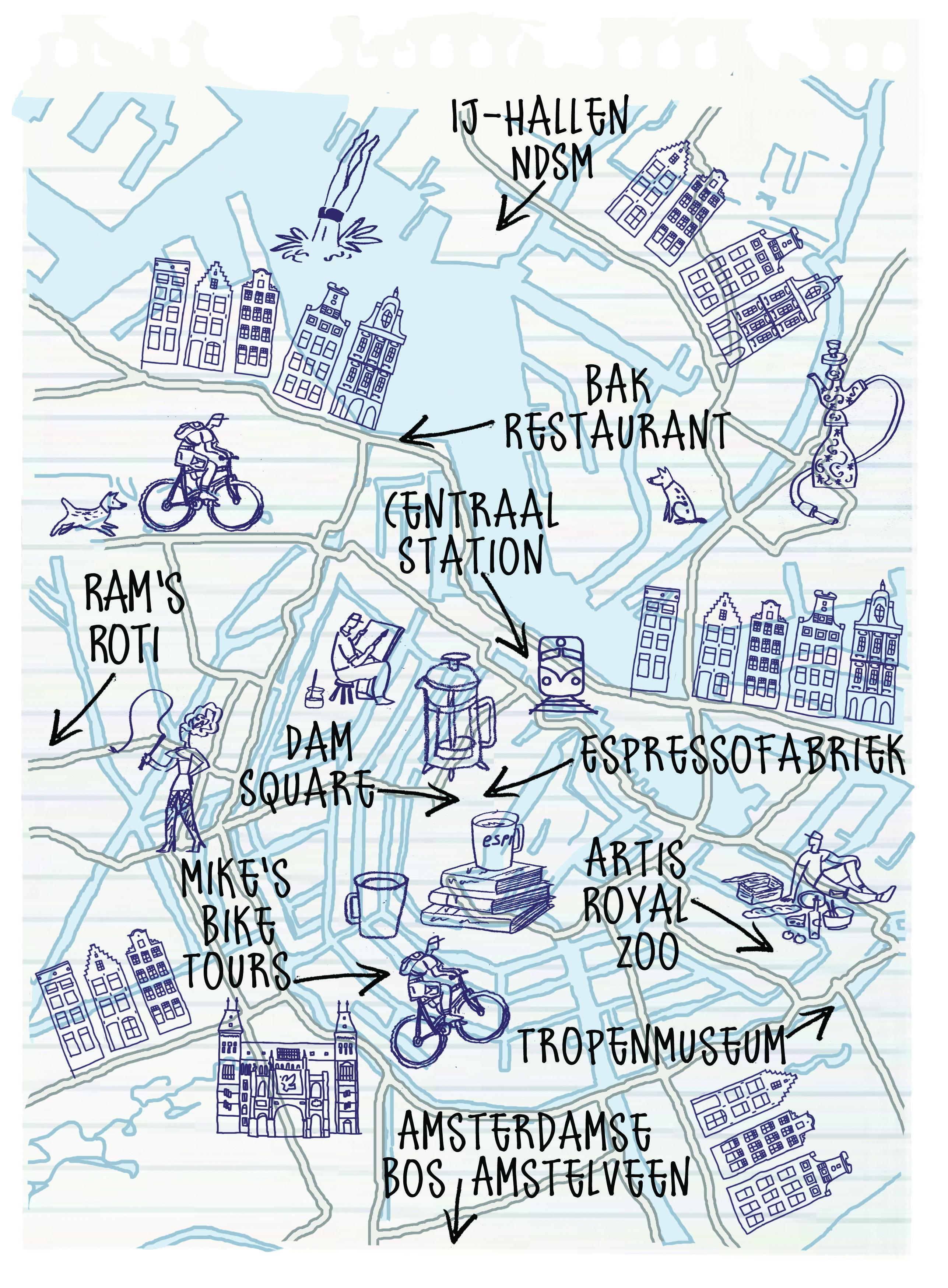Amsterdam From A Local S Perspective By Robert Littleford Sketch Note Reisen Niederlande