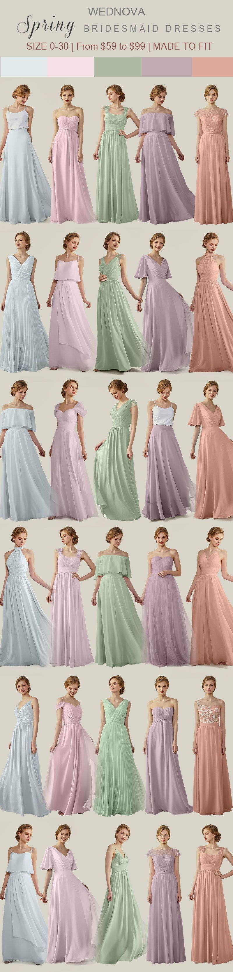 Best color dress to wear to a wedding  Spring best bridesmaid dresses illusion necklinedress sweetheart