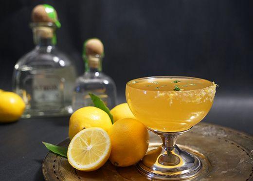 Gastronomista: Patrón Meyer Lemon & Thyme Margarita  @patrontequila #PerfectMargarita #NationalMargaritaDay #Margarita