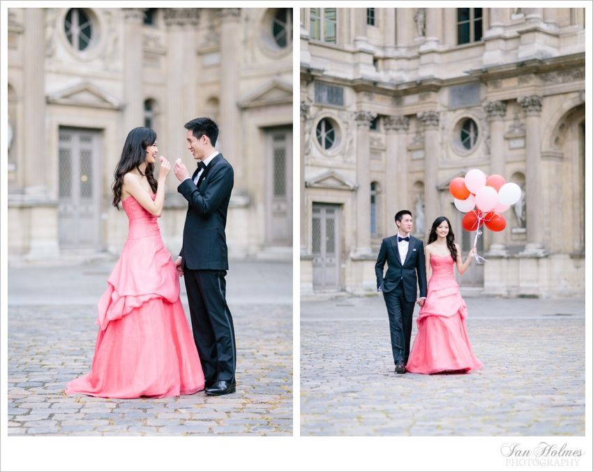 Kelly & Tan. An afternoon in Paris. Three stunning dresses. — English Speaking Wedding & Engagement Photographer, Paris, France