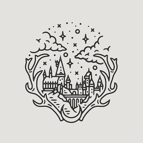 Harry Potter tattoo idea | tattoo | Pinterest | Tatuajes, Hacer ...