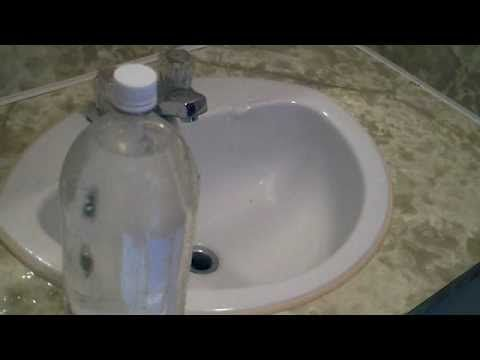 THIS WORKS! I just unclogged my kitchen sink! How to Unclog a sink ...