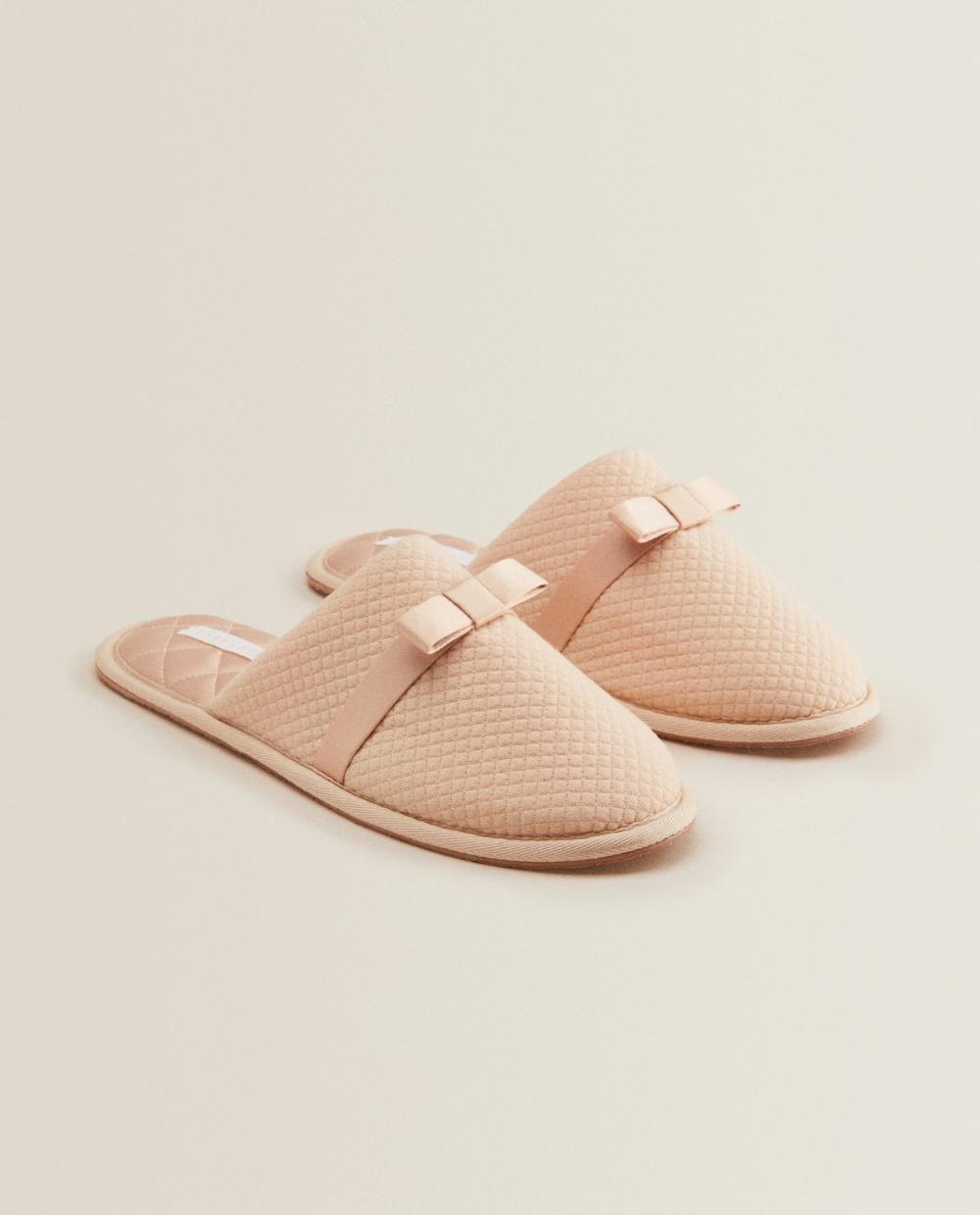 Zdjecie Nr 1 Produktu Pantofle Z Kokarda Pantufas Estilo Pessoal Sapatos