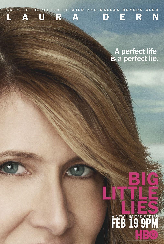 Big Little Lies Poster Laura Dern Big Little Lies Big Little Lie