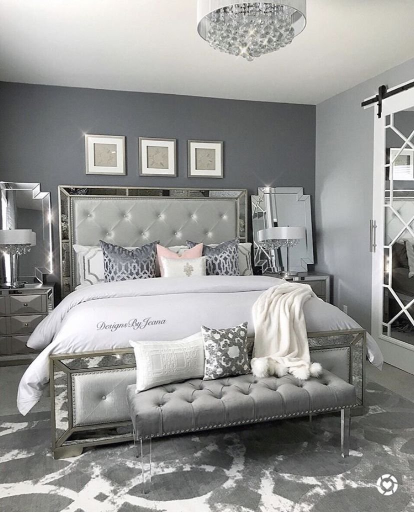 Pin By Micaela Deese On Home Mirrored Bedroom Furniture