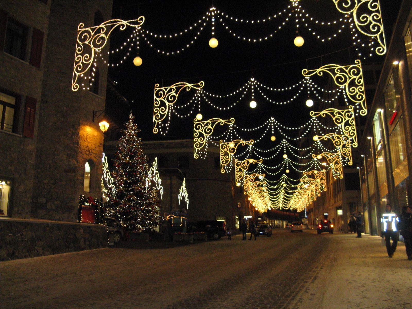 Five Dream Destinations, Saint Moritz, Switzerland, Street ...