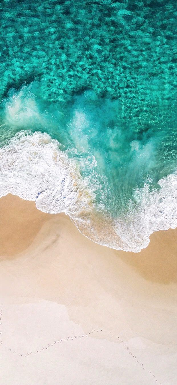 Beach Wave Iphone Xs Max Xr X Original Iphone Wallpaper Iphone Wallpaper Ios Ios Wallpapers