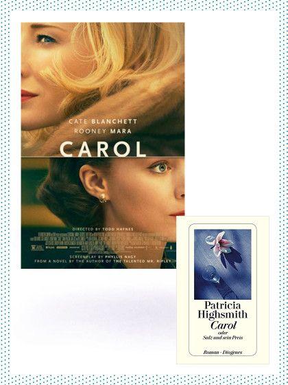 """Der Film: """"Carol"""" (Start: 17. Dezember)Therese (Rooney Mara) jobbt imNew York der 50er-Jahre in einem Kaufhaus und lernt dort die faszinierende Carol (Cate Blanchett) kennen.Beide sind in einer unglücklichen Beziehung. Das bringt sieh näher zusammen. Also so richtig nahe... Carols Mann ist die Frauenfreundschaft ein Dorn im Auge und derdroht, ihr die gemeinsame Tochter zu entziehen. Alles, was er dazu braucht, sind handfeste Beweise für die geheime..."""