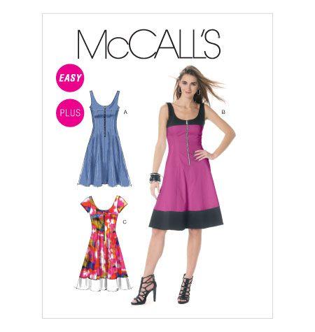 M6324 | Misses\'/Miss Petite/Women\'s/Women\'s Petite Dresses | Dresses ...