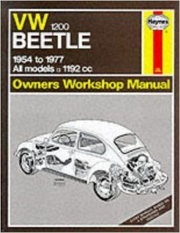 vw 1200 beetle 1954 77 owner s workshop manual amazon co uk j h rh pinterest com 67 VW Beetle 68 VW Beetle with Sunroof