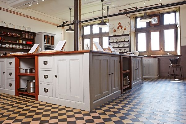 Downton Abbey Style Cookery School  Open Shelves Kitchens And Beauteous Downton Abbey Kitchen Design Design Inspiration