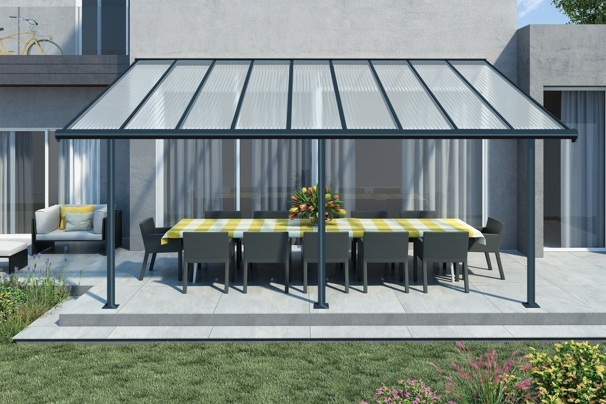 The Sierra Patio Cover Range By Palram Can Be The Perfect Addition