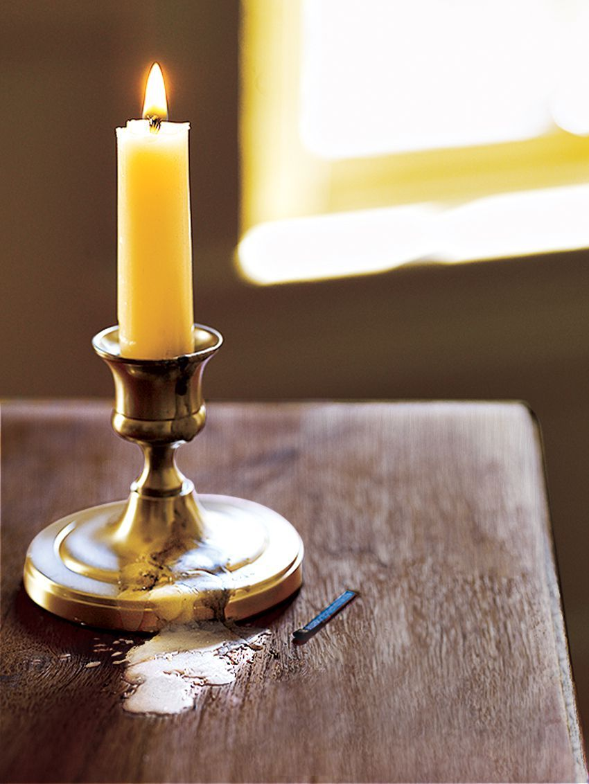 How to get candle wax off any surface cleaning candle