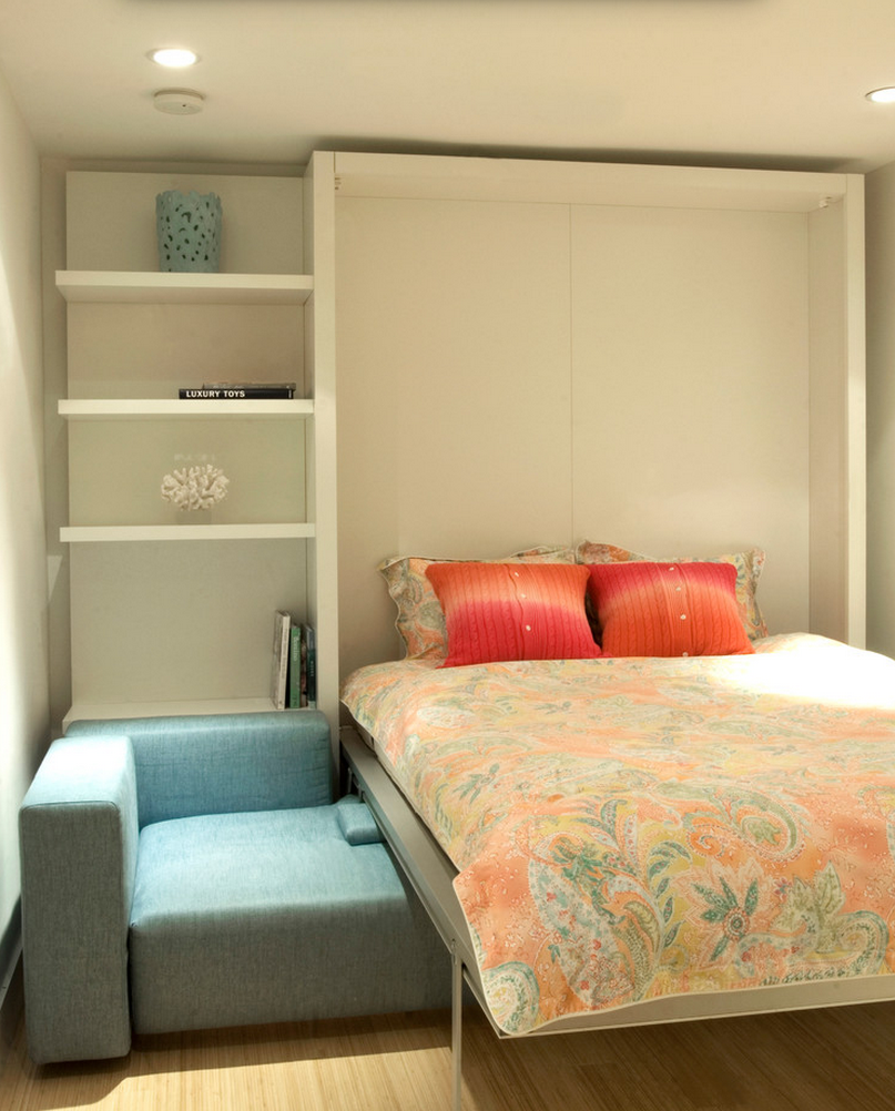 i dont know why i havnt thought of a murphy bed before! brilliant ...