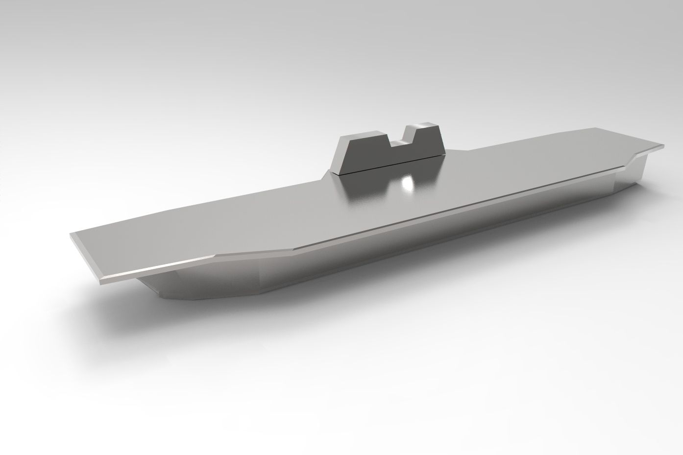 IZUMO class helicopter carrier ornament by 3ds Max and Keyshot