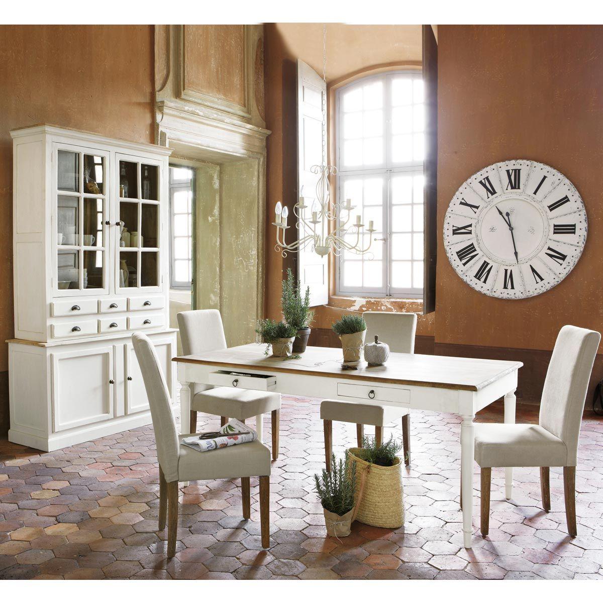esstisch bergerac bergerac maisons du monde dining room pinterest credenza and room. Black Bedroom Furniture Sets. Home Design Ideas