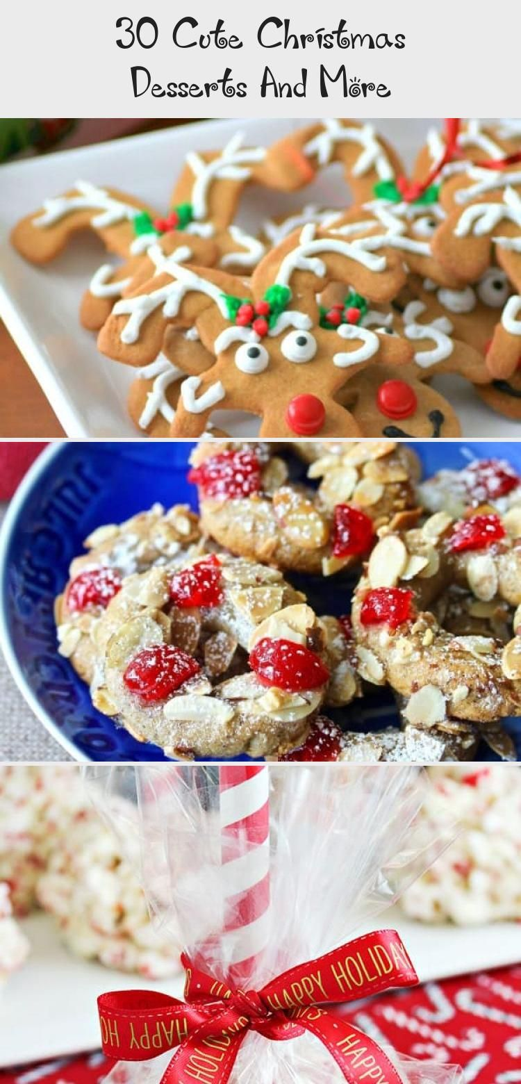 Photo of 30 Cute Christmas Desserts and More will have you having fun for the holidays!! …