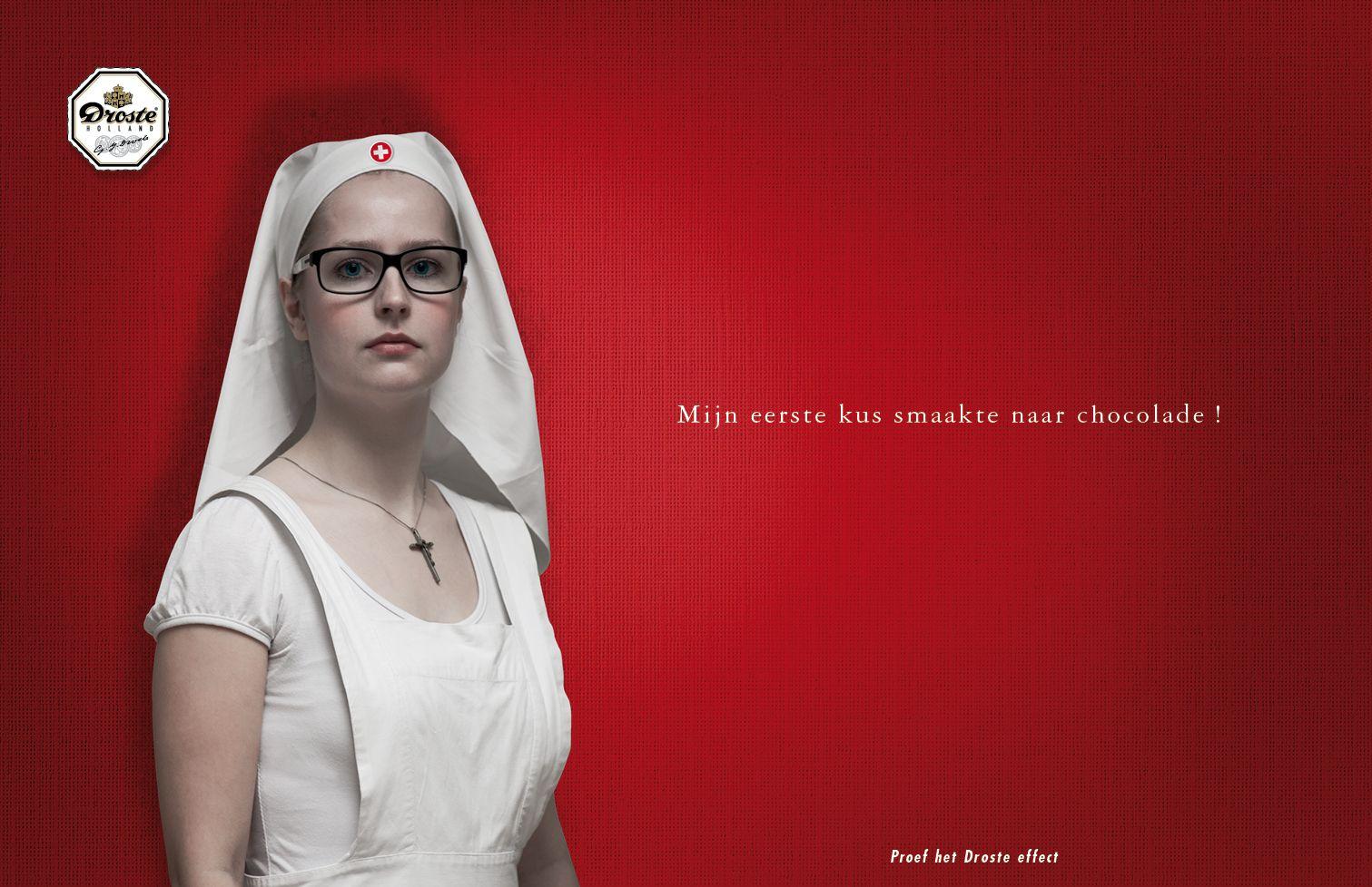 Droste campaign: Mijn eerste kus by Huub van Osch #vOSCH #huubvanosch #blahblahism #amsterdam #Droste