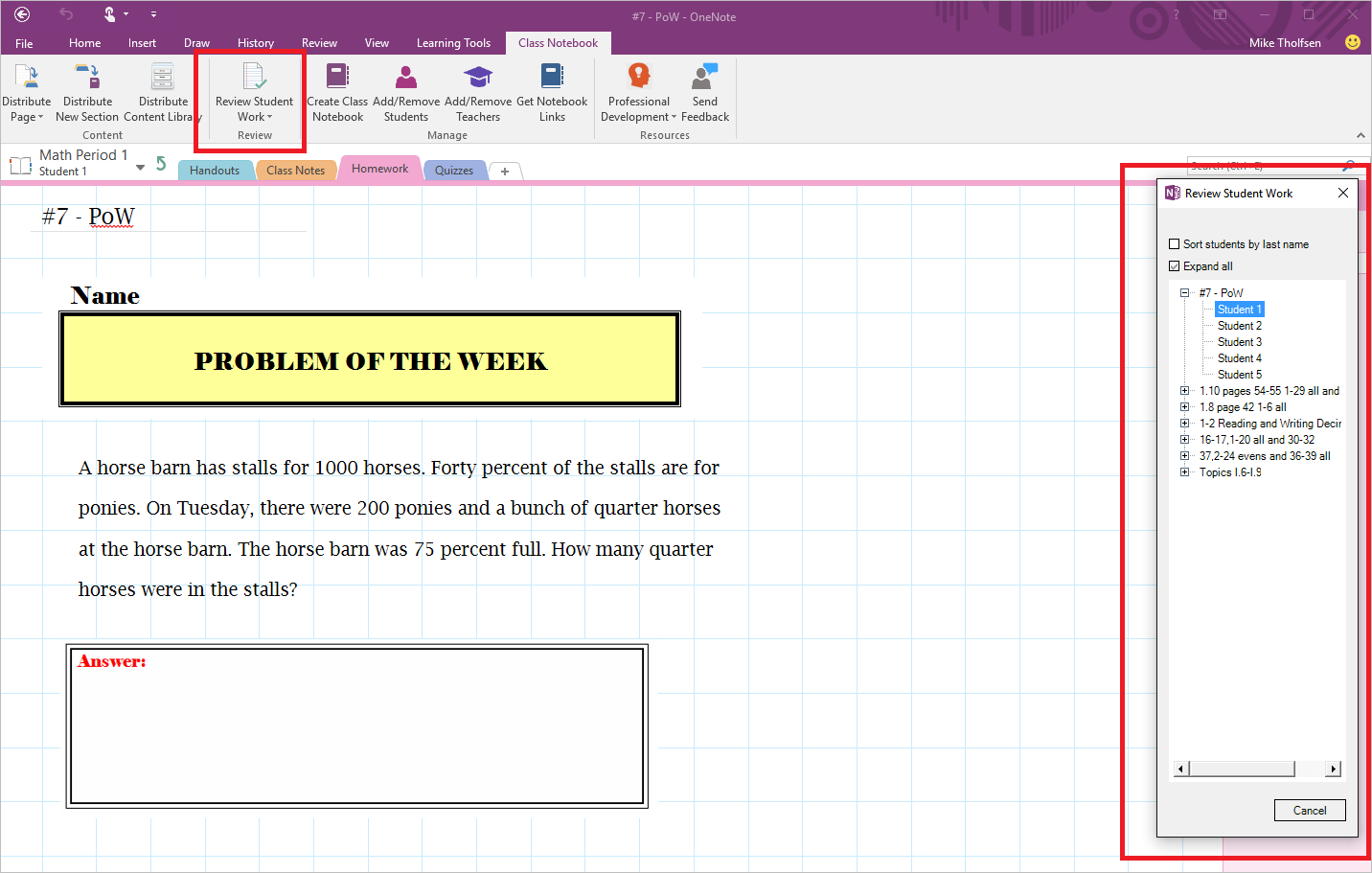 Introducing the class notebook add in for onenote 4b computer introducing the class notebook add in for onenote 4b baditri Choice Image