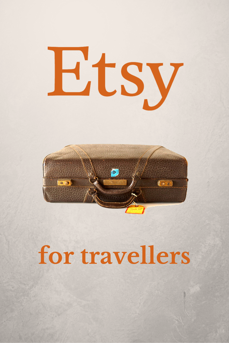 Awesome Travel Finds On Etsy Ultimate Travel Travel Gifts - 10 great gift ideas for the travel obsessed