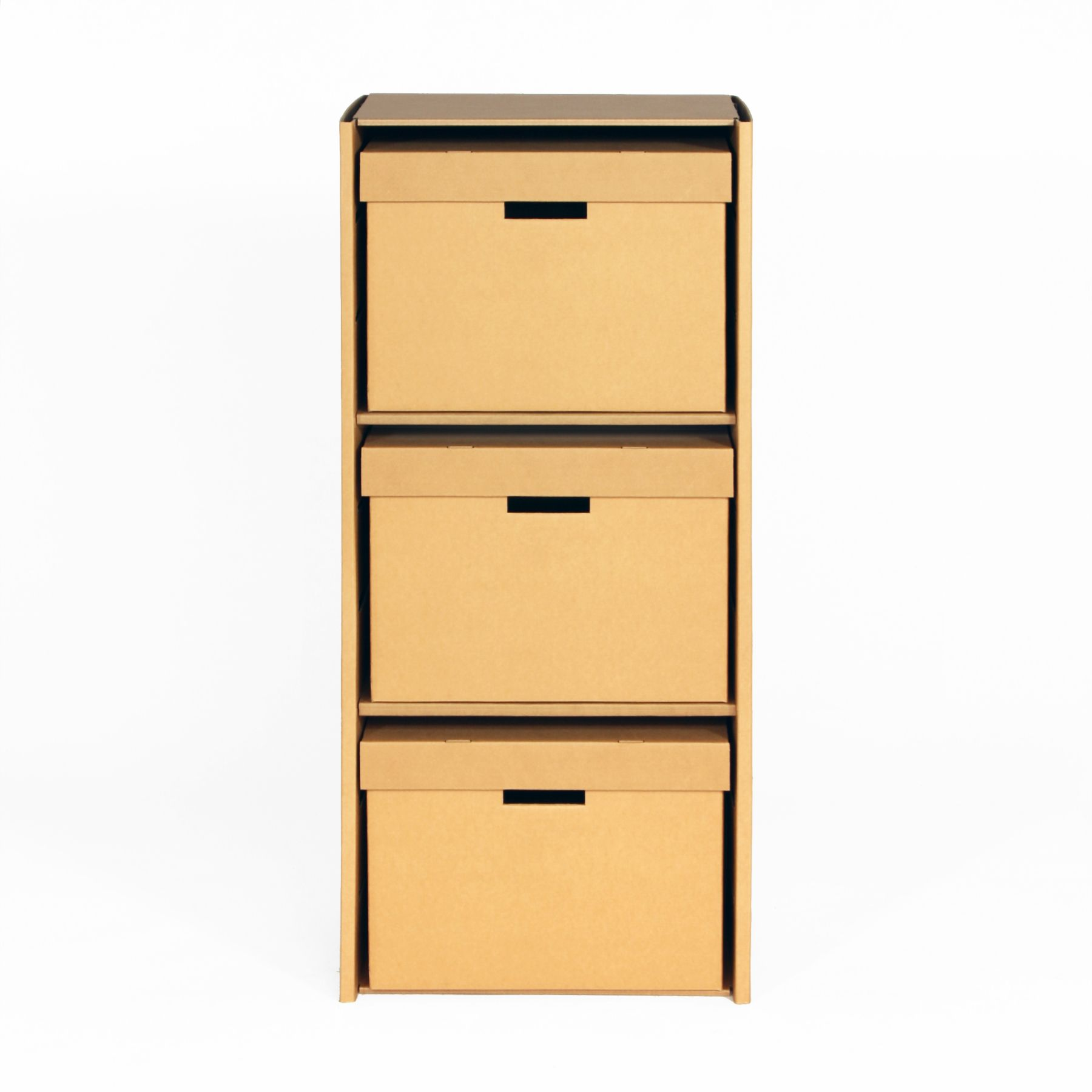 cardboard shelving unit herbert stange design berlin arbeiten pinterest m bel aus pappe. Black Bedroom Furniture Sets. Home Design Ideas