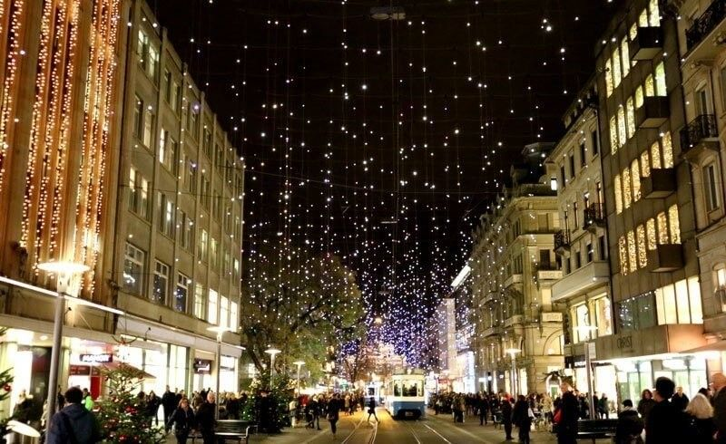 Here S What Zurich Looks Like With Christmas Decorations Pertaining To Christmas Decorations Zurich 41174 Christmas Decorations Decor Christmas