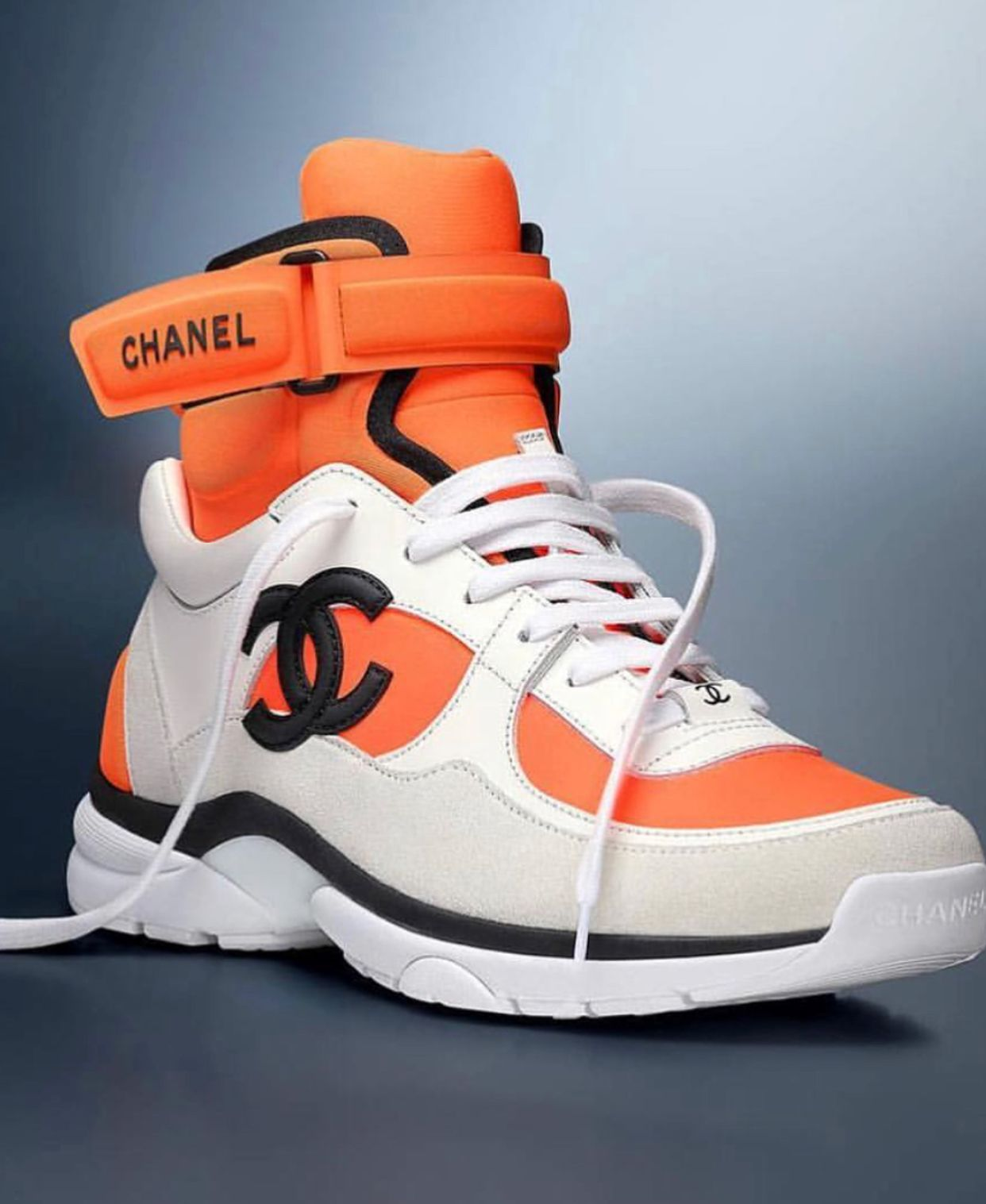 Double C's | Chanel shoes, Sneakers