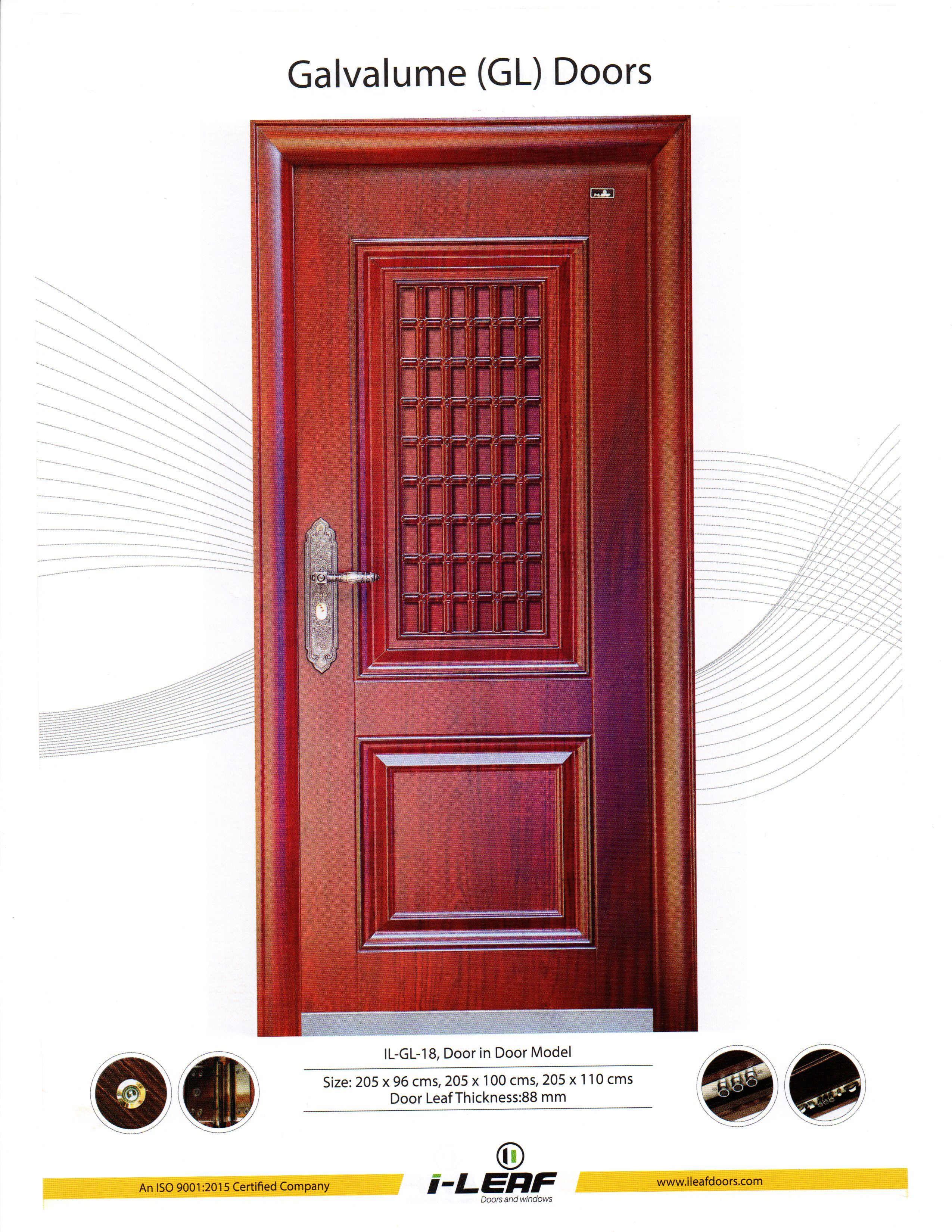 Entry Door Gl Thickness on