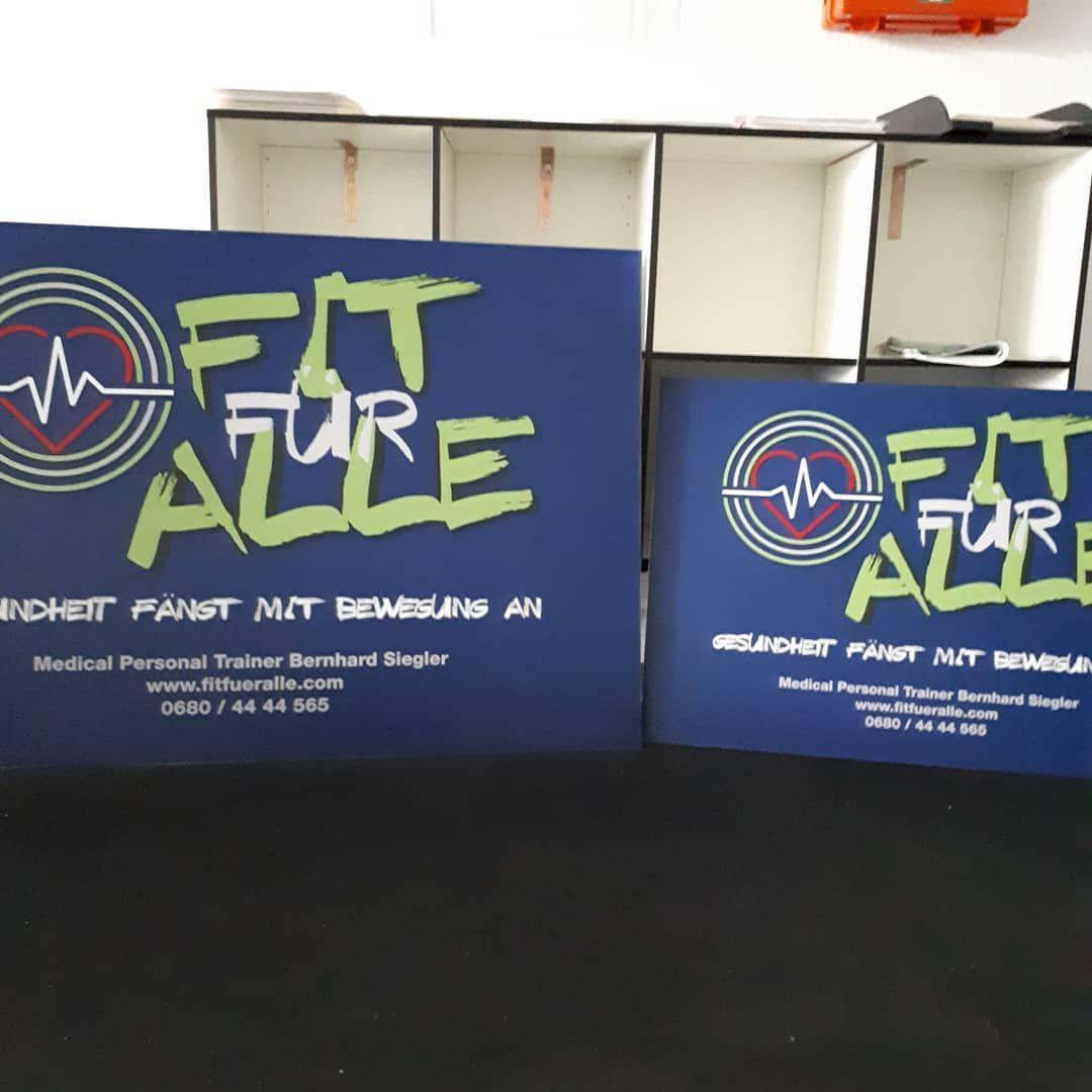 Neues Firmenschild  Freude ist groß #traiskirchen #gym #functional #fitness #Studio #workout #powerp...