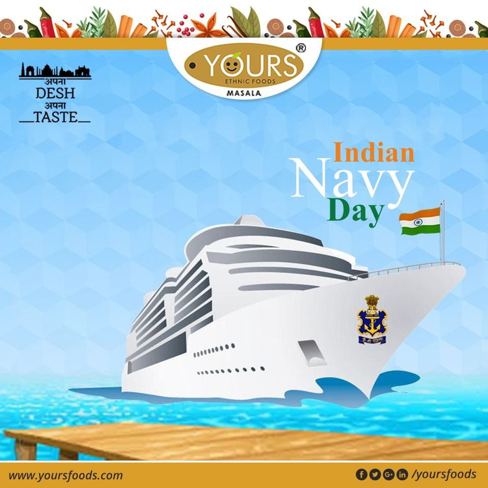 Indian Navy Day Always Reminds Us Of All Our Heroes Who Stand Strong To Keep Us Safe Happy Indiannavy Day Yoursethnicf Navy Day Indian Navy Day Indian Navy