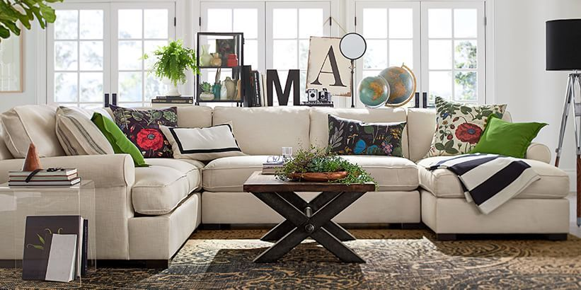 Townsend Sofa Collection Pottery Barn Like The Configuration
